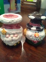 Pair of Christmas Salt and Pepper Shakers in Bolingbrook, Illinois