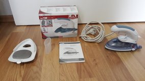 Traveling Steam Iron and Steam Brush - 2 in 1 - CLATRONIC in Ramstein, Germany