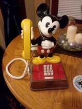 Vintage 1976 Mickey Mouse phone in Fort Riley, Kansas