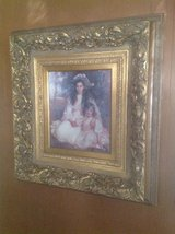 Ornate, antique framed picture in Chicago, Illinois