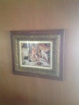 Decorative antique framed picture in Chicago, Illinois
