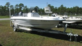 2004 Triumph Bay Boat with 115 Yamaha in Wilmington, North Carolina