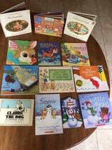 Christmas & Snow Picture Storybooks: Lot of 13 incl Snowy Day, Rudolph,& Pop-Ups in Cherry Point, North Carolina
