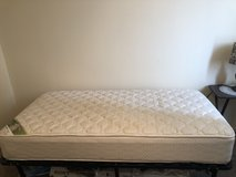 Serta Twin Mattress and Twin Bed Frame in Westmont, Illinois