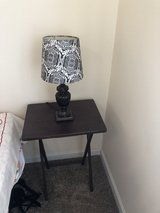 Side table and table lamp! in Chicago, Illinois