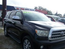 TOYOTA SEQUOIA LIMITED AUTO SUNROOF 3RD ROW~REDUCED~ in Camp Lejeune, North Carolina