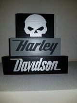 Harley Davidson stackable blocks in Lawton, Oklahoma