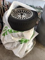 bmw rims and used winter tires in Ramstein, Germany