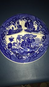Blue Willow Sectional Plate in Beaufort, South Carolina
