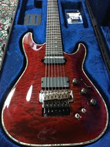 Schecter Hellraiser C-7 in Ramstein, Germany