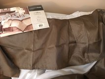 """Queen bed skirt """"new"""" in Plainfield, Illinois"""