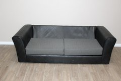 Black Sofa in Spring, Texas