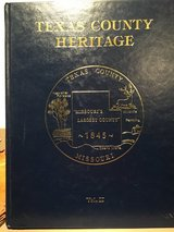 Texas County Heritage Vol. 1 and 2 in Fort Leonard Wood, Missouri
