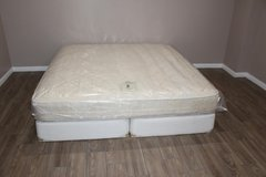 King Size Mattress (Sealy - Posture premier Paulson Plush) in Tomball, Texas