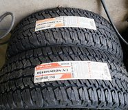 Two Firestone 275/60R20 Destination AT Tires in The Woodlands, Texas