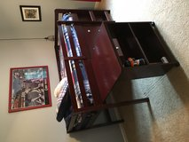 Twin loft bed with mattress, dresser, bookshelf and desk! in Elgin, Illinois