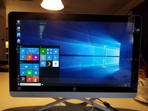 HP Snow White 22-b013w All-in-One touch screen Desktop PC in Leesville, Louisiana