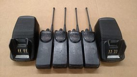 FOUR Motorola 800mhz Professional Digital Radios w/ Chargers ! in Shaw AFB, South Carolina