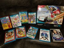 WiiU Black 32G w/ 9 games in Fort Campbell, Kentucky