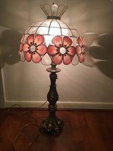 Tiffany Style Lamp with Brass Base in Kingwood, Texas
