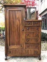 : ) Beautiful Vintage Armoire Dresser. !!! in Naperville, Illinois