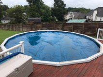 24' pool solar cover in Clarksville, Tennessee