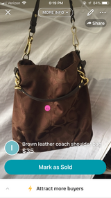 Coach purse in Lockport, Illinois