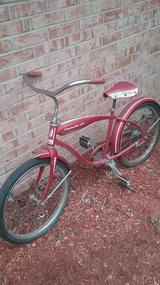 Old Roadmaster Jr. bike in Yorkville, Illinois