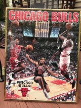 Chicago Bulls framed poster, 1996 in Naperville, Illinois
