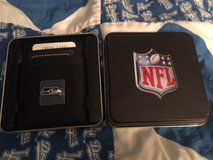 SEATTLE SEAHAWKS Officially Licensed Money Clip Credit Card Holder in Collectors tin *** NEW *** in Fort Lewis, Washington