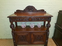 Green Man Carved Oak Buffet Free Delivery Others Available in Lakenheath, UK