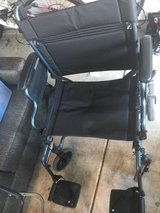 Nova Lightweight Transfer Wheelchair with Hand Brakes & Swing Away footrests in Wheaton, Illinois
