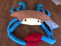 "Beanie Baby Kelby Crab with Tags; Wild Republic 1999; 11-12""; Velcro Wrap-Around: in Cherry Point, North Carolina"