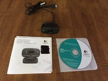 Logitech HD Webcam C525 with Manual & Installation CD; Has Autofocus Lens JUST REDUCED in Cherry Point, North Carolina