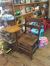 Vintage child's desk in Fort Campbell, Kentucky