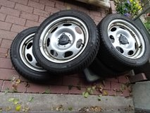 4 Winterwheels Smart for2 (up to 2012) - with centrecaps in Ramstein, Germany