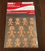 Gingerbread Men Stickers in Joliet, Illinois