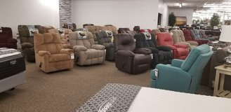 LARGE SELECTION OF RECLINERS! in Cherry Point, North Carolina