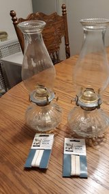 kerosene lamps in Fort Polk, Louisiana