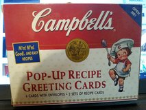 Campbell Soup Recipe Greeting Cards 1998 in Camp Lejeune, North Carolina