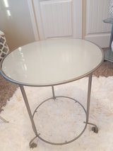 Modern glass coffee/ side table in Fort Carson, Colorado