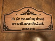Reduced: Religious Wall Plaque in Naperville, Illinois
