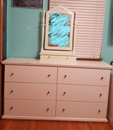 Dresser with small mirror in Yorkville, Illinois