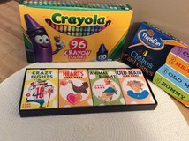 NEW - Crayons and Children's Playing Cards in Glendale Heights, Illinois