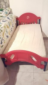Toddler bed with mattress Disney cars 2 in Ramstein, Germany