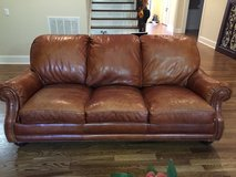 Genuine Leather Couch in Nashville, Tennessee