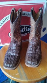 Anderson Bean kids size 12 croc boots in Kingwood, Texas