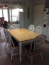 Kitchen Table and 6 Chairs Set in Oswego, Illinois