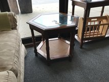 Hexagon End Table in Glendale Heights, Illinois
