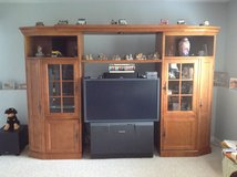 Wooden Wall Unit in Oswego, Illinois